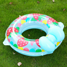 Hot Sale Thicken PVC Inflatable Swim Ring Life Buoy Swimming