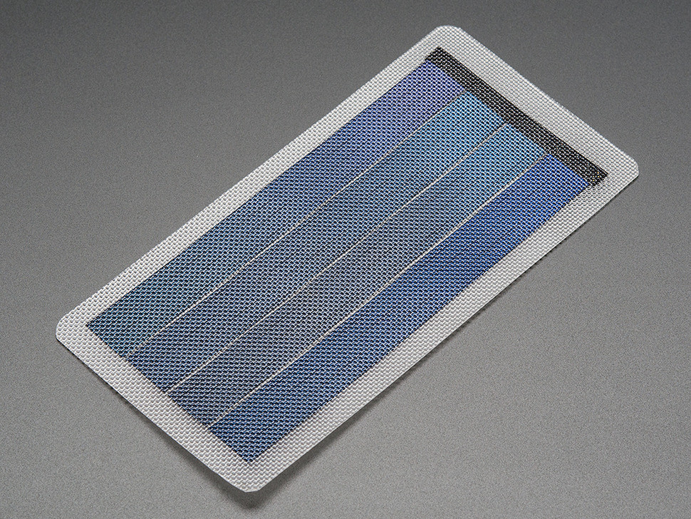Flexible thin solar panels 1V 6W