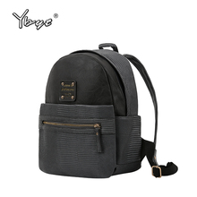 YBYT Brand New Luxury women Backpack High Quality PU Leather Backpacks for Teenage Girls Female School Backpack Casual Woman bag цена в Москве и Питере