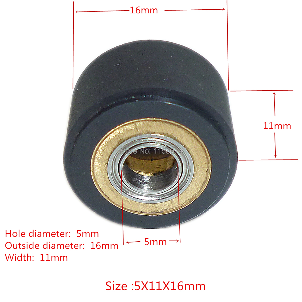 Pinch Roller for Roland Vinyl Plotter Cutter Hole Diameter 3mm 4mm 5mm Bearing