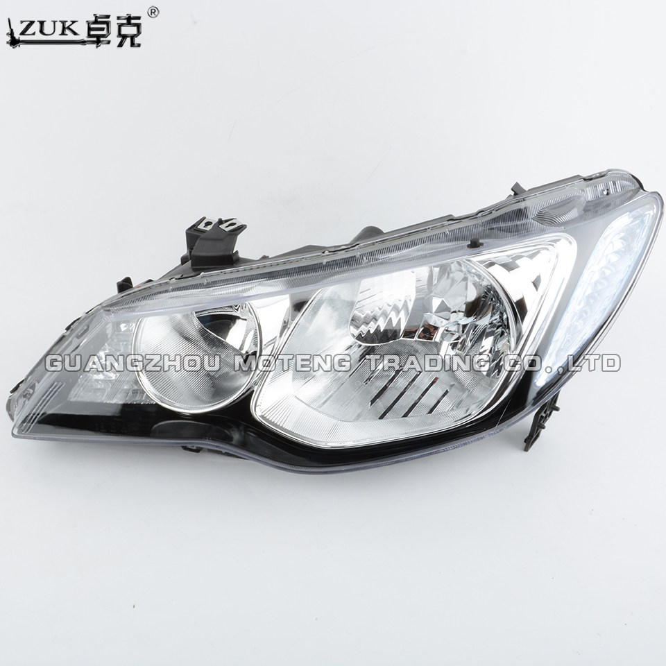 ZUK 2PCS High Quality Left and Right Front Headlight Headlamp Head Light Lamp For HONDA CIVIC FD1 FD2 2006 2011 CIIMO C14 2012-in Car Light Assembly from Automobiles & Motorcycles    2