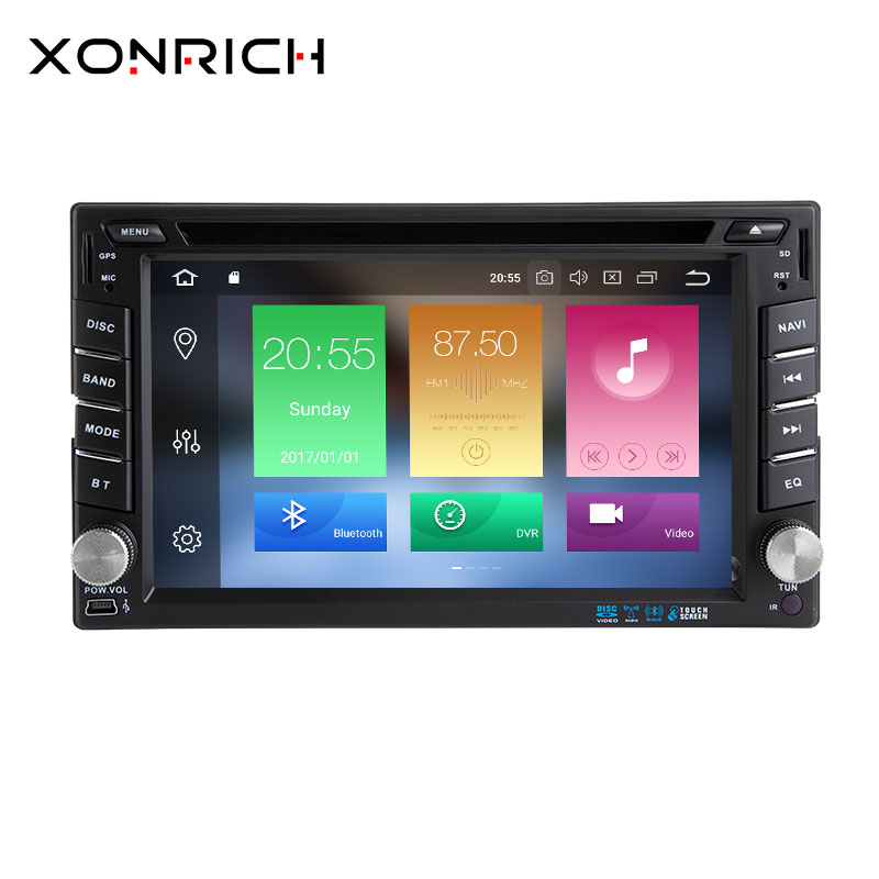 2din Android 8 0 Car Multimedia Video Play Tap Pc Tablet For Nissan