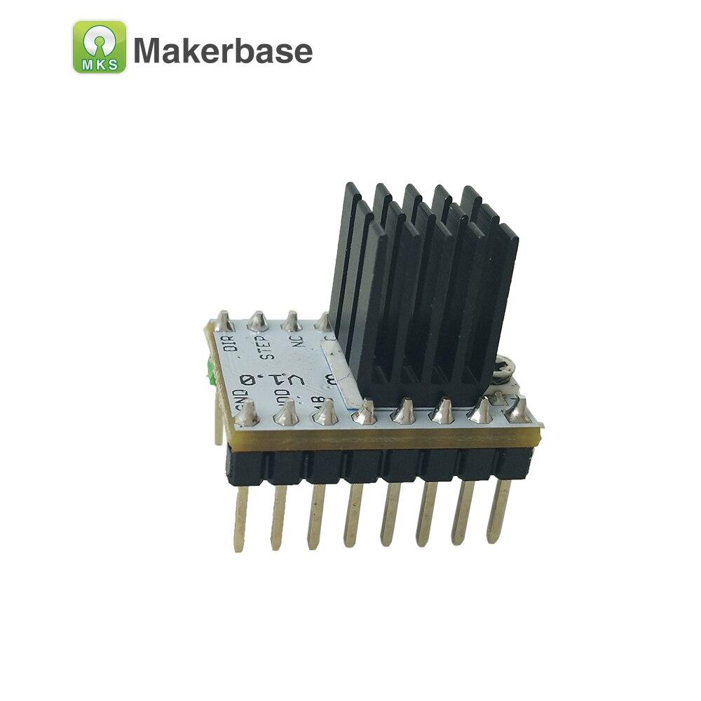 3D impresora StepStick MKS TMC2208 motor paso a paso ultra silencioso paso a paso controlador tubo incorporado conductor actual 1.4A