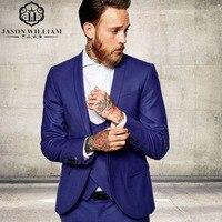 LN017 Brand 2017 New Groomsmen Groom Tuxedos Burgundy Jacket Men Suits Wedding Best Man Blazer (Jacket+Pants+Vest)