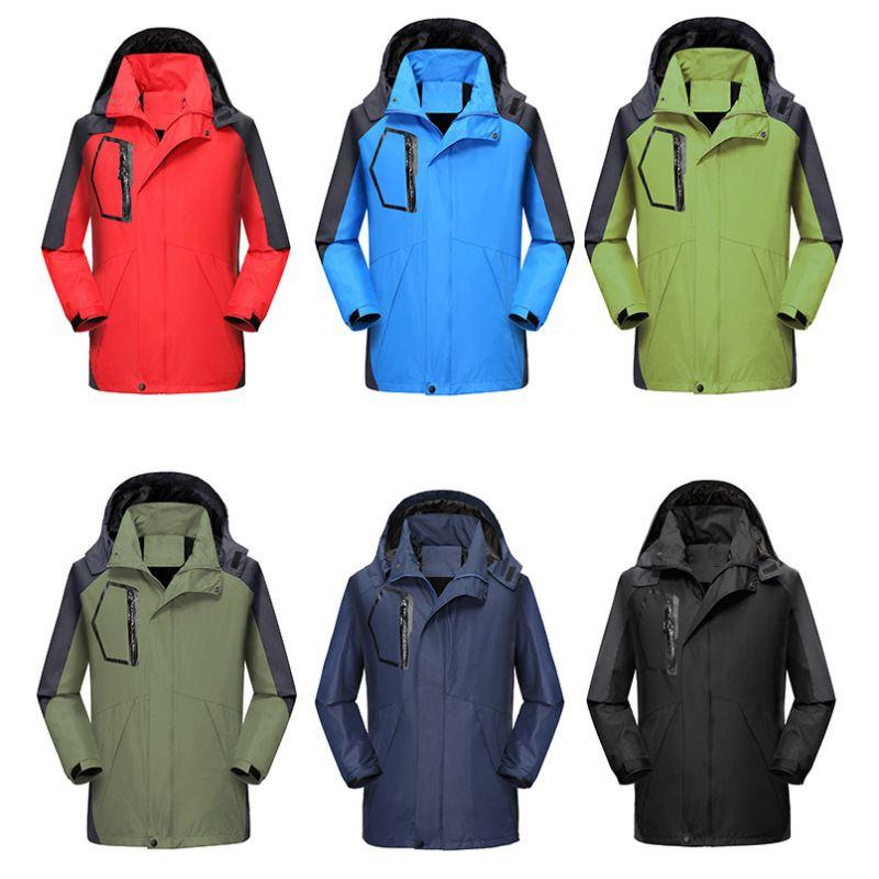 Autumn Winter Mens Softshell Hiking Jackets Male Outdoor Camping Trekking Climbing Coat For Waterproof Windproof Sportswear
