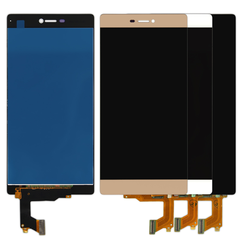 100% warranty 5Pcs/lot For Huawei P8 Lcd Display With Touch Screen Digitizer Assembly Replacement without Bad pixel FreeShipping replacement original touch screen lcd display assembly framefor huawei ascend p7 freeshipping