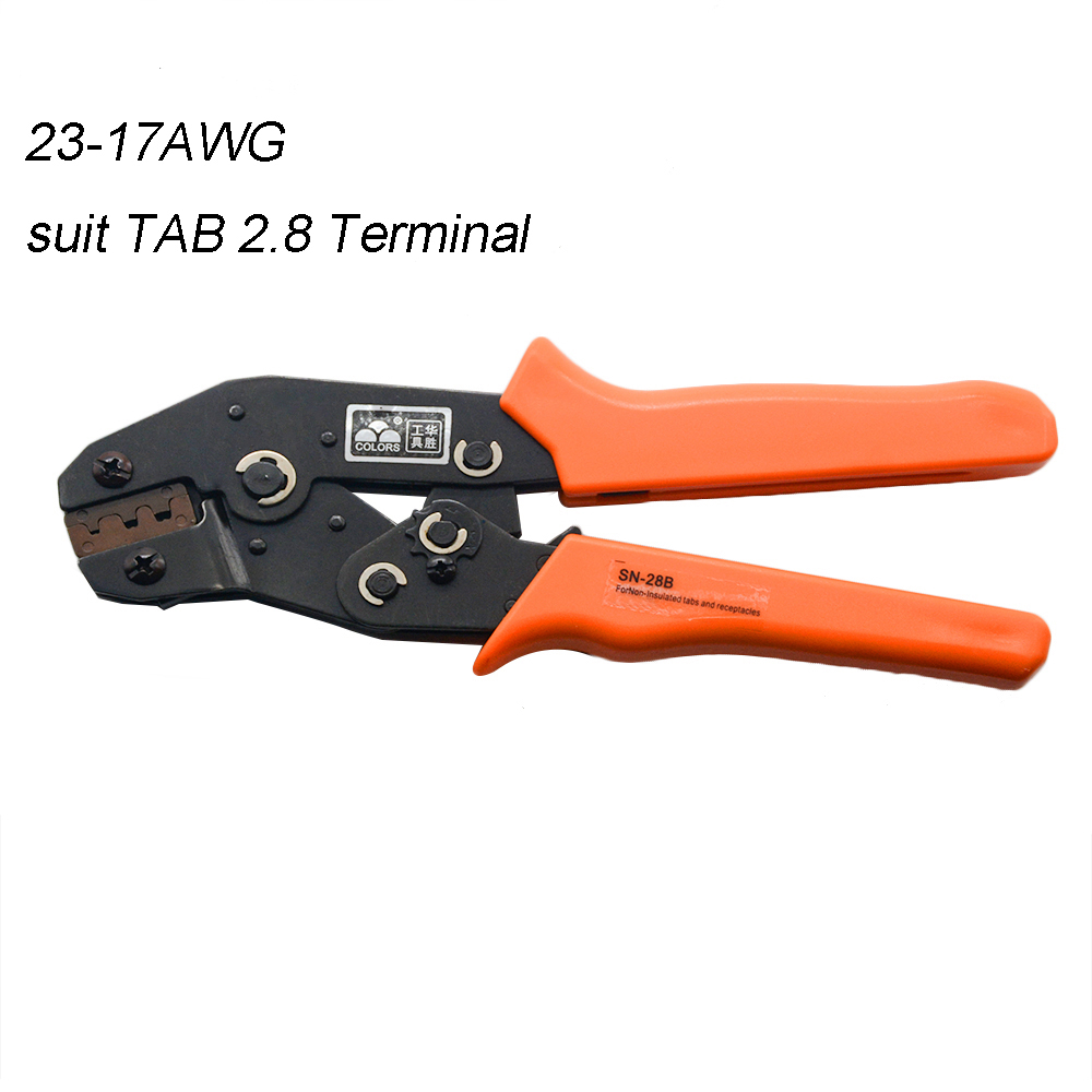 SN-28B MINI EUROP STYLE Crimping Tool Crimping Plier 0.25-1mm2 Multi Tool Tools Hands 28-18AWG