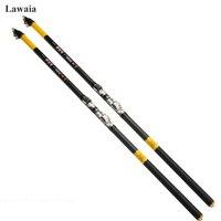 Lawaia Fishing Rod Casting Carbon Fiber Rods 3.6m 4.5m 5.4m Hard Carbon Fish Lure Ocean Rock Fishing Rod Fishing Tackle Supplies