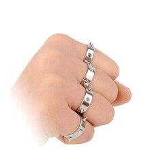Versterkte Soort Bescherming Ring Titanium Roestvrij Staal Voor Vrouwen Met Piercing Defensief Wapen Defense Supplies