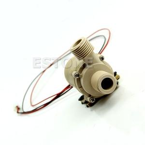 Image 4 - Çok dayanıklı 12V/24V DC güneş sıcak su sirkülasyon pompası fırçasız Motor su pompası 5M 3M yeni