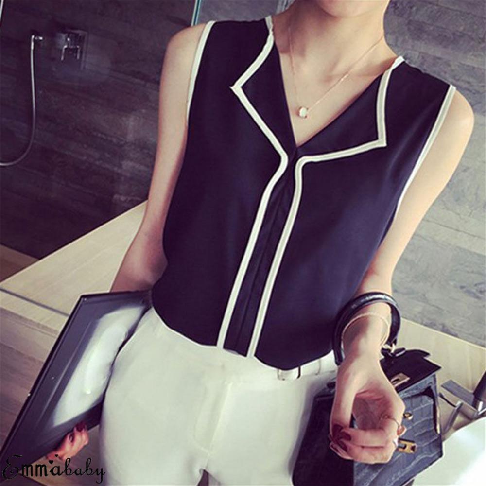 Women Blouses 2019 Fashion Long Sleeve Turn Down Collar Office Shirt Chiffon Blouse Shirt Casual Tops Plus Size Blusas Femininas 8