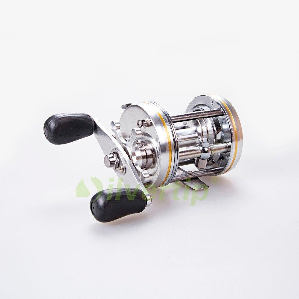 Free shipping 3 1bb baitcasting fishing reel right hand for Casting fishing reels
