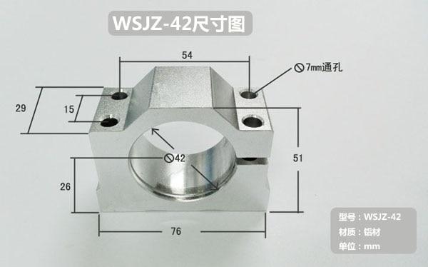250w ER11 12000 ot / min bezkartáčový stejnosměrný vřetenový - Obráběcí stroje a příslušenství - Fotografie 3