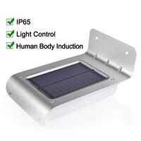 LED Solar Light Outdoor Lighting Waterproof LED Solar Lamp Energy Saving Garden Light With PIR Motion