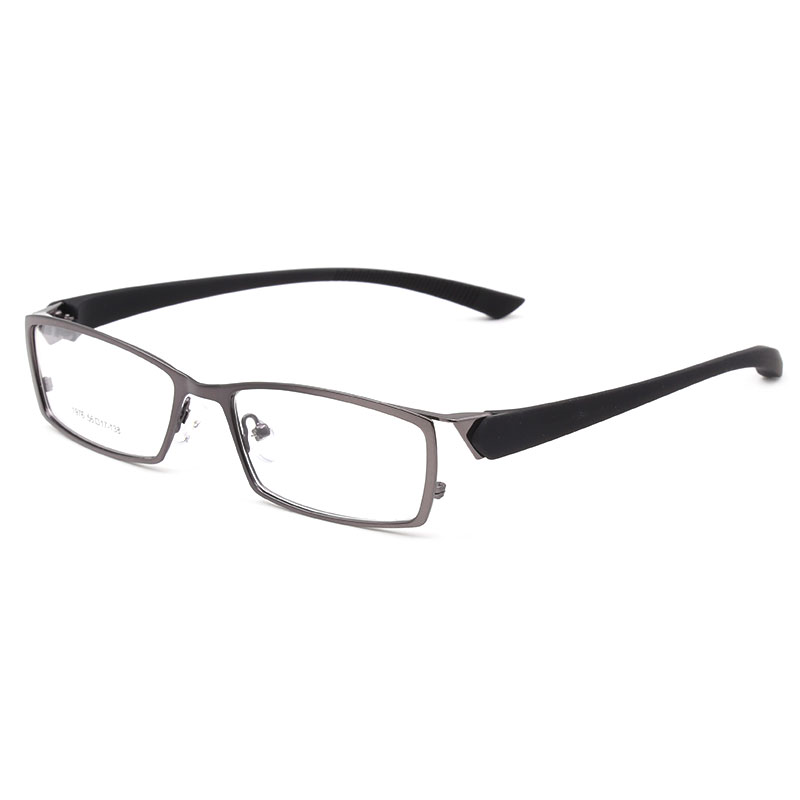1976 Uomini Occhiali Da Vista Con Cerchio Pieno E Metà Del Cerchio Per Uomo Occhiali Ottico In Lega Di Occhiali Da Vista Occhiali Da Vista Telaio Da Processo Scientifico
