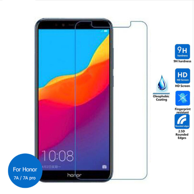 <font><b>Glass</b></font> For <font><b>Huawei</b></font> <font><b>Honor</b></font> 7A 7C 7X 7A Pro Y6 Prime Pretective Safety Film Tempered <font><b>Glass</b></font> Not Full Cover Screen Protector image