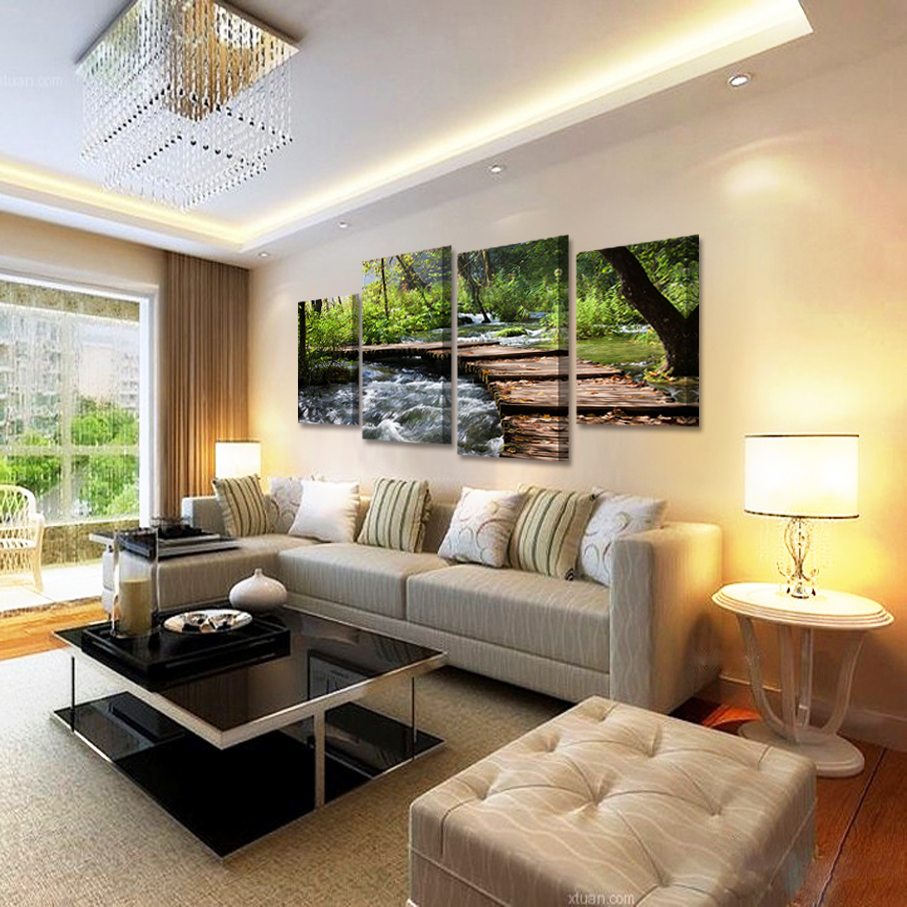 How to decorate living room with frames awesome home design for Waterfall design definition