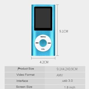 Image 4 - Seenda MP4 Nghe Nhạc 1.8 Inch Màn Hình LCD Hỗ Trợ Micro SD TF Hifi Video Đài Phát Thanh Âm Nhạc Phim Người Chơi Điện Tử booker Di Động MP4 Người Chơi