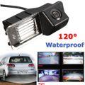 Nuevo Kit de Auto de la Visión Nocturna de Visión Trasera Cámara Del Revés Del Coche A Prueba de agua Para VW/Golf MK6/MK7/GTI