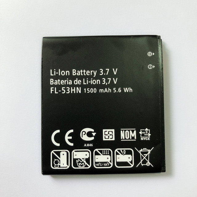 New FOR LG FL 53HN Battery for LG Optimus 2X P990 P993 P920 P999 SU660-in  Mobile Phone Batteries from Cellphones & Telecommunications on