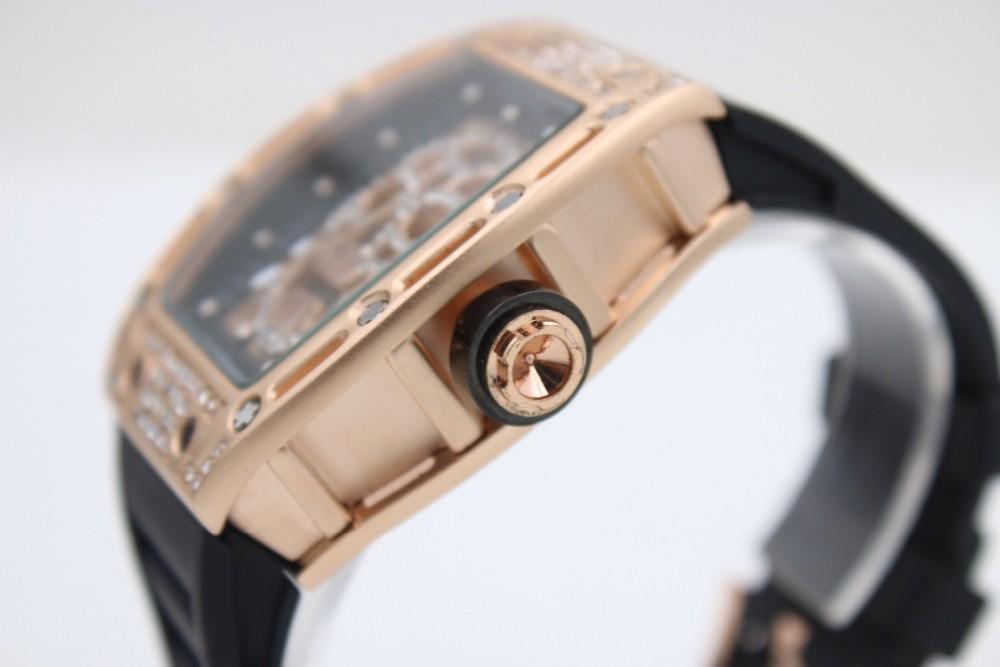 832ff85e427 Wholesale Men s Luxury Watches RM 052 Diamond Quartz movement Hollow ...