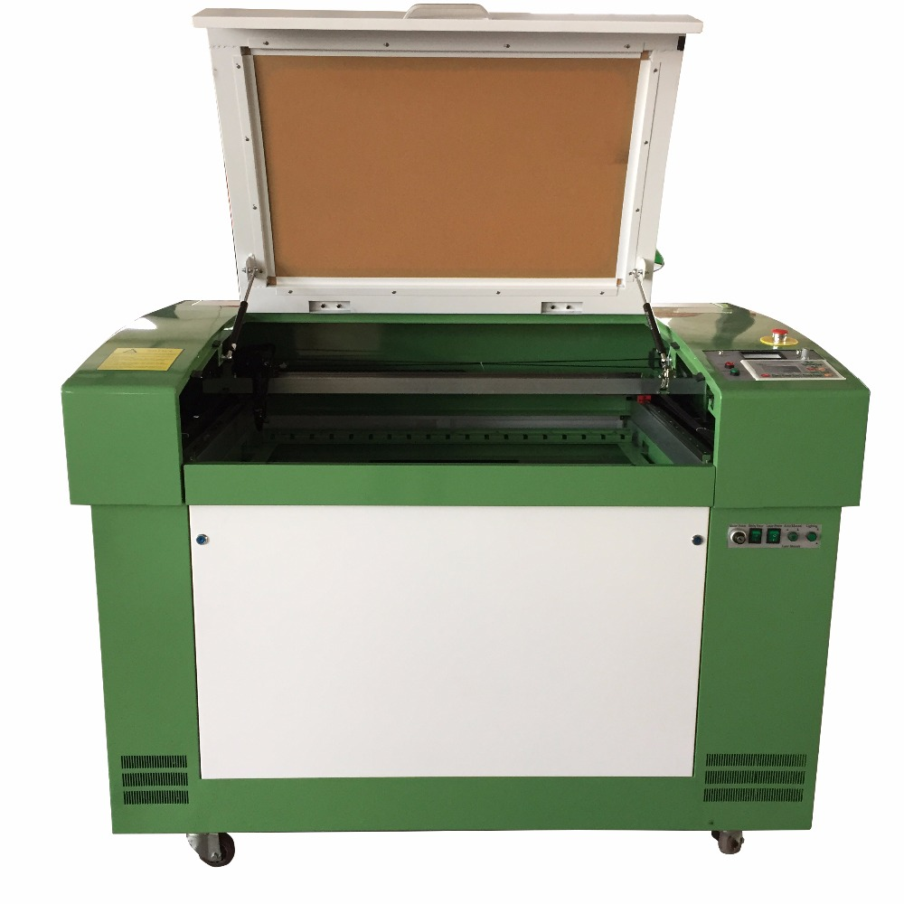 Professional 100w 6090 600 900mm Laser Engraving Cutting
