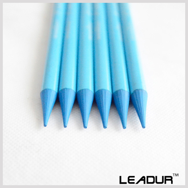 6pcs Set Color Pencil Woodless Sketch Painting Pencils For Art School Supplies Light Blue Colored Stationery In Sets From Office