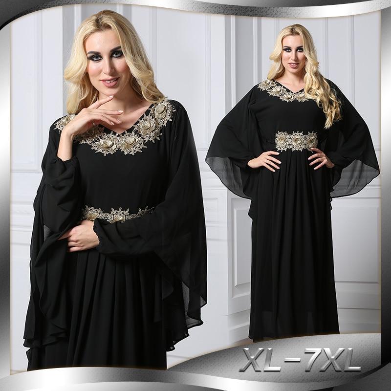 Muslim Dress Chic Women Kaftan Abaya Slim Muslim Party Dresses Kaftan Abaya Jilbab Islamic Muslim Party Clothing L146 shari a and muslim minorities