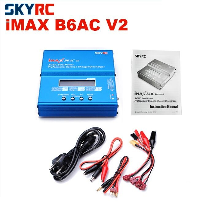 SKYRC iMAX B6AC V2 AC/DC Dual Power Professional Balance 6A Charger / 2A Discharger SK-100008-01 2 suit for canon pg240 remanufactured ink cartridge with dye ink printer cartridge for mx372 432 512 mg2120 mg3120 3220 mg4120