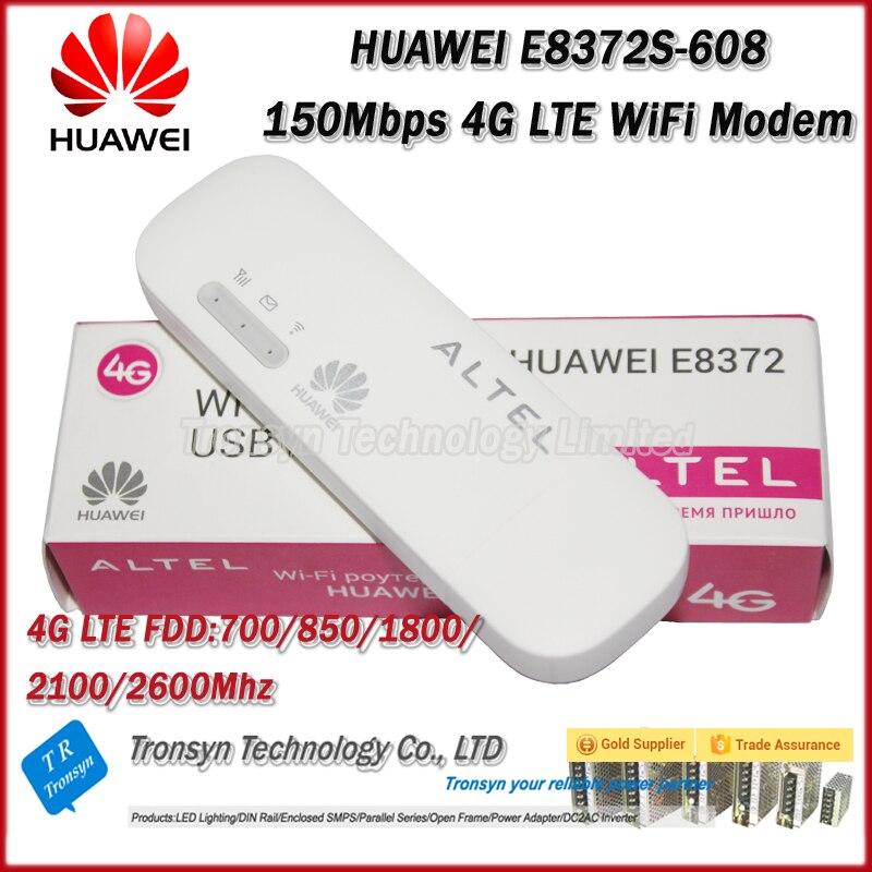 New Arrival Original Unlock 150Mbps HUAWEI E8372 CAT5 4G USB WiFi Wingle Support LTE FDD B1 B3 B5 B7 B28 free shipping original unlock 150mbps huawei e5575s 210 protable 4g lte wifi router support lte fdd b3 b7 tdd b38