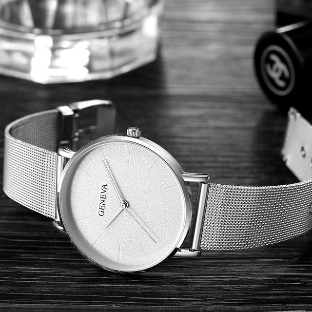 Women Watches Bayan Kol Saati Fashion Rose Gold Silver Ladies Watch For Women reloj mujer saat relogio zegarek damski часы женск 5