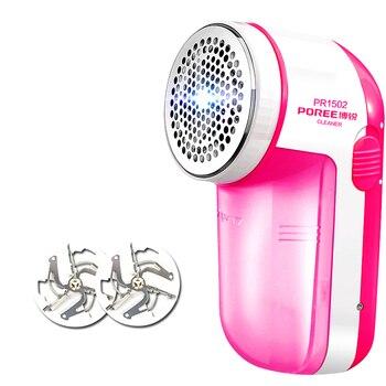 Flyco máquina eléctrica máquina de afeitar pelusa máquina de pellets recargable y 2 la cabeza de corte 2018 PR1502