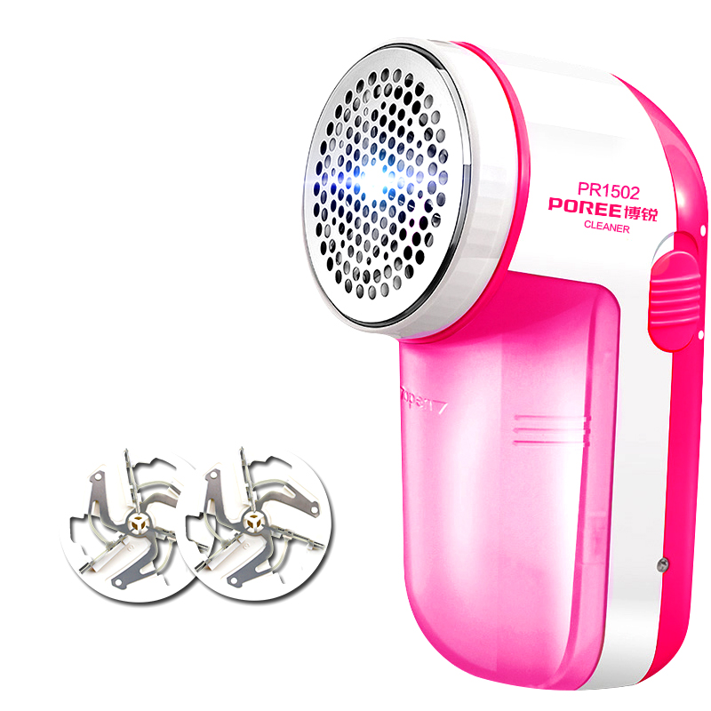 Portable Lint Remover Flyco PR1502 Electric Clothing Pill Sweater Substances Shaver Machine Remove Pellets Compact 2 Cutter Head