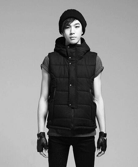 Hot 2017 Korean the cotton vest men Slim Men 's vest fashion vest couple men's jacket Outerwear & Coats