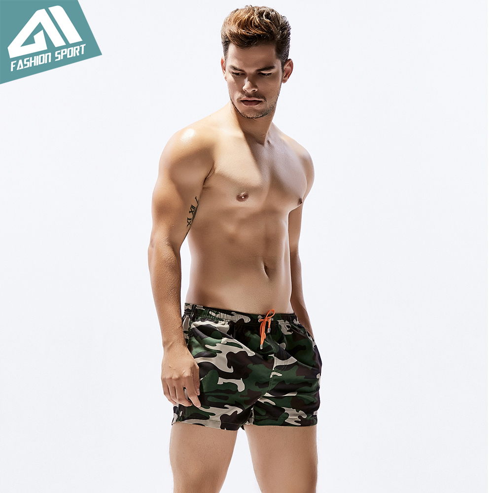 409dbb6d62e54 Seobean Summer Camouflage Men's Board Shorts 13in Fixed Waist Swim Trunk  Holiday Beach Fast Dry Men Swimming Shorts SE80-in Surfing & Beach Shorts  from ...