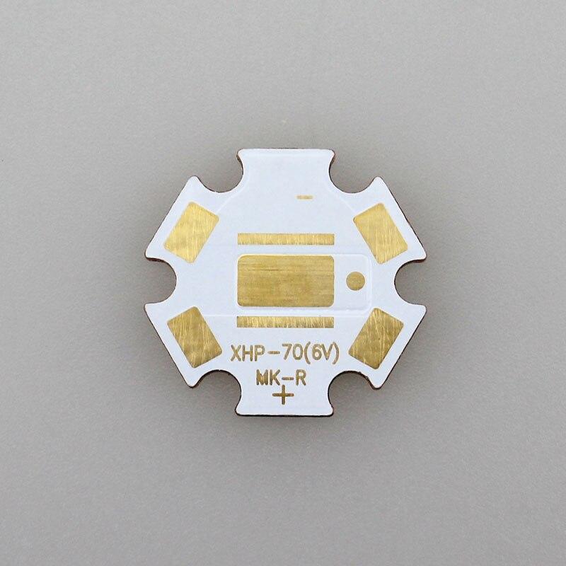 20 мм x 1.6 мм 6 В <font><b>LED</b></font> Медь Отопление Star для CREE <font><b>xhp70</b></font>/МК-R (5 шт./лот)