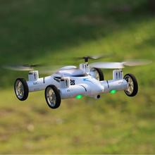 RC Plane 2.4G 4CH 6-Axis Gyro Air-Gronud RC Flying Car with 2.0MP Camera 360 Degree Flips Auto Return Function