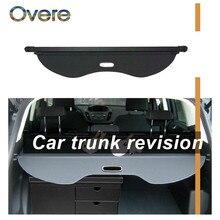 OVERE 1 ensemble couverture de coffre arrière de voiture pour Ford Escape/Kuga 2013 2014 2015 2016 noir bouclier de sécurité ombre Auto accessoires