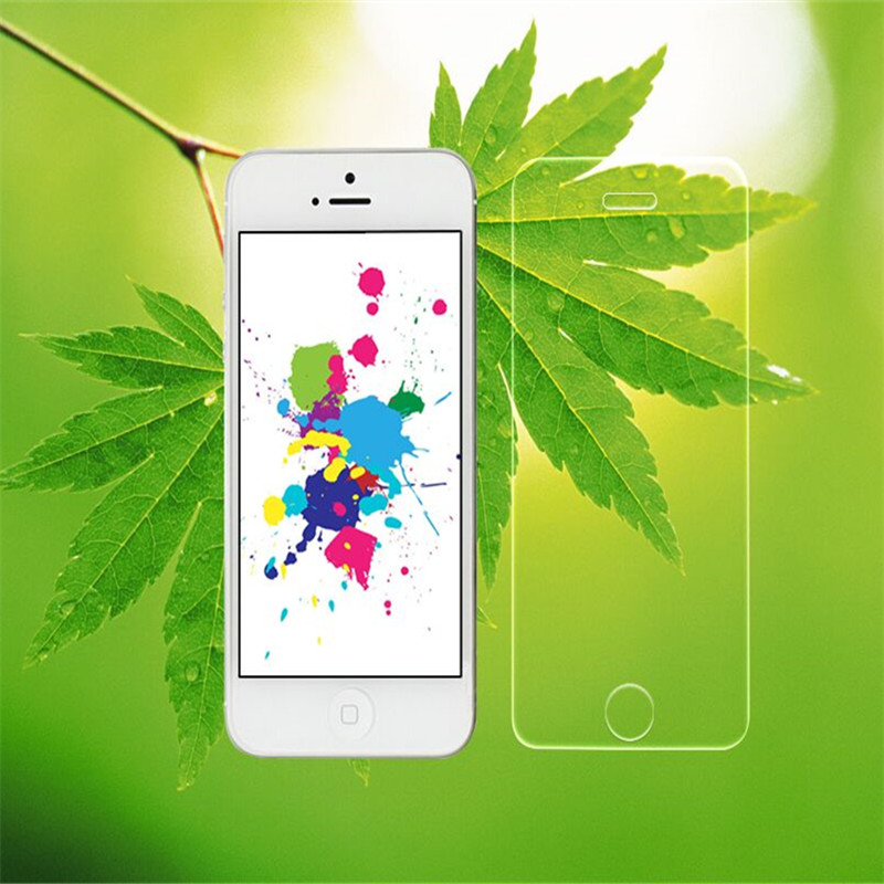 Premium Tempered Glass Screen Protector For Apple iPhone 4 4s 5 5s SE 6 6s plus Protective Film Screen Toughened Protective Film