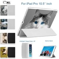 MTT Super Lovely Kitten Case For New IPad 2017 IPad Pro 10 5 Inch Case Slim