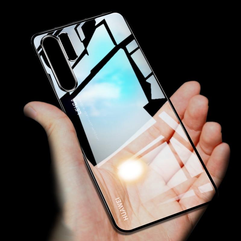 Vornehm Für Huawei P30 Pro Fall 3d Laser Überzug Luxus Tpu Soft Clear Abdeckung Für Huawei P30 Lite Helle Kristall Telefon Fällen Angepasste Hüllen Handytaschen & -hüllen