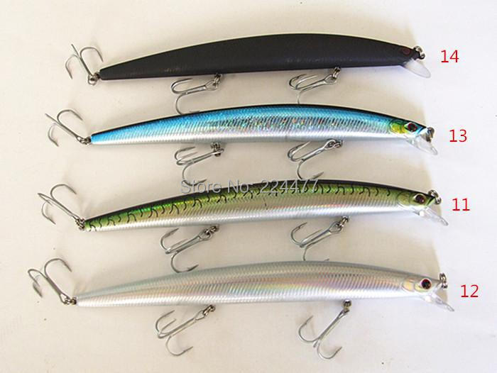 17.5cm 30g Suspend Type Casting Lure Sea Bait Fishing Lure Minnow Bait Plastic Hard Bait Casting Spinner Bait Chinese Tackle