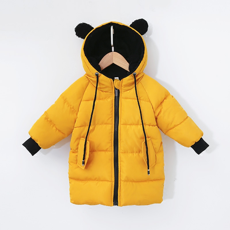 2018 Autumn Winter Jacket for Girls Boys Clothes Cotton Padded Hooded Kids Coat Children Clothing Parkas Enfant Jackets & Coats womens winter jackets and coats 2016 warm hooded inner cotton padded parkas for women s winter jacket xxxl female manteau femme page 4
