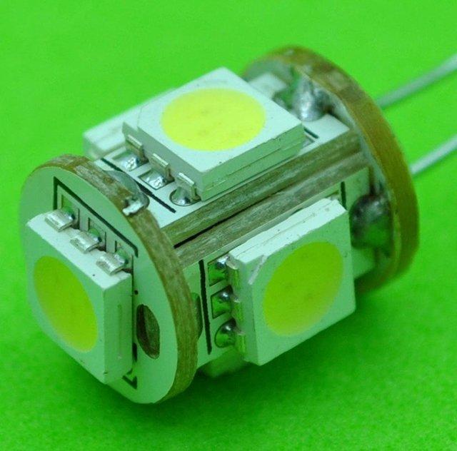 G4,5pcs 5050SMD,DC12V input,0.8W