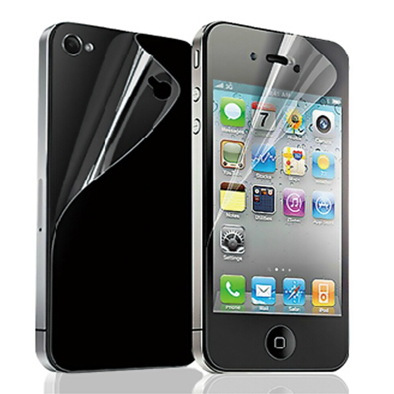 Pet-Film-Shield Accessories Lcd-Screen-Protector Back-Cover Protective Ecran Apple iPhone