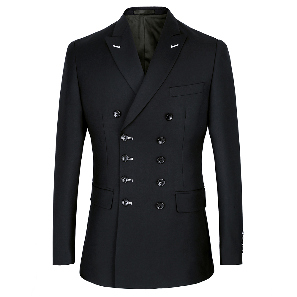 2019 black Double Breasted Suits Mens Wedding Suits Purple Suits sets 2 pcs Men Terno Costume Homme Mariage Slim Fit in Suits from Men 39 s Clothing
