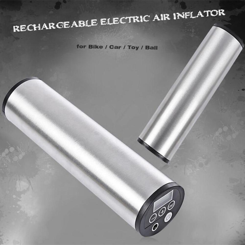 Pompe à vélo électrique Rechargeable Outlife pompe à vélo de vélo de voiture gonfleur de pneu Mini compresseur d'air affichage LCD