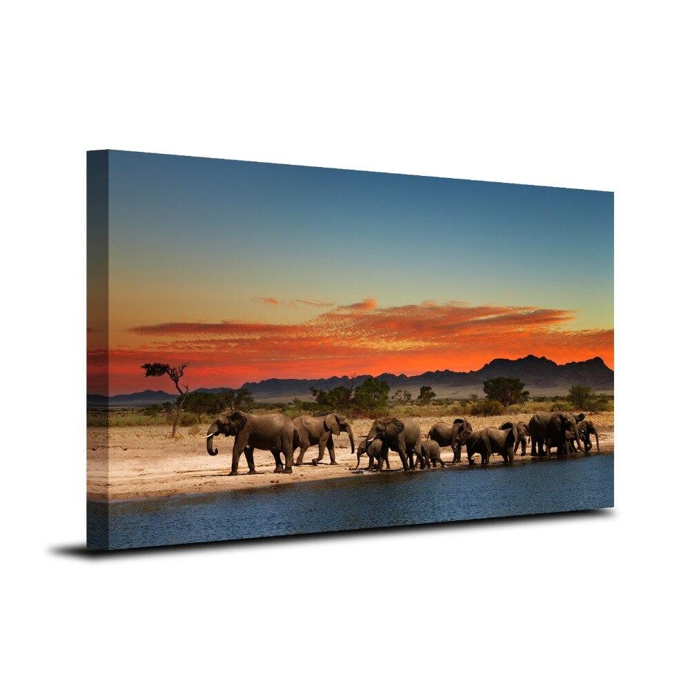 Online kopen wholesale olifant wandkleden uit china olifant ...
