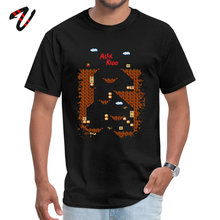Alex Kidd in Miracle World 2019 Popular Adult Tshirts Round Neck Kazakhstan Sleeve Porg T Shirt Casual Tee Shirts Game T-shirts
