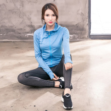New Brand Yoga Suit Long Sleeve Fitness Outdoor Sports Running Three-piece